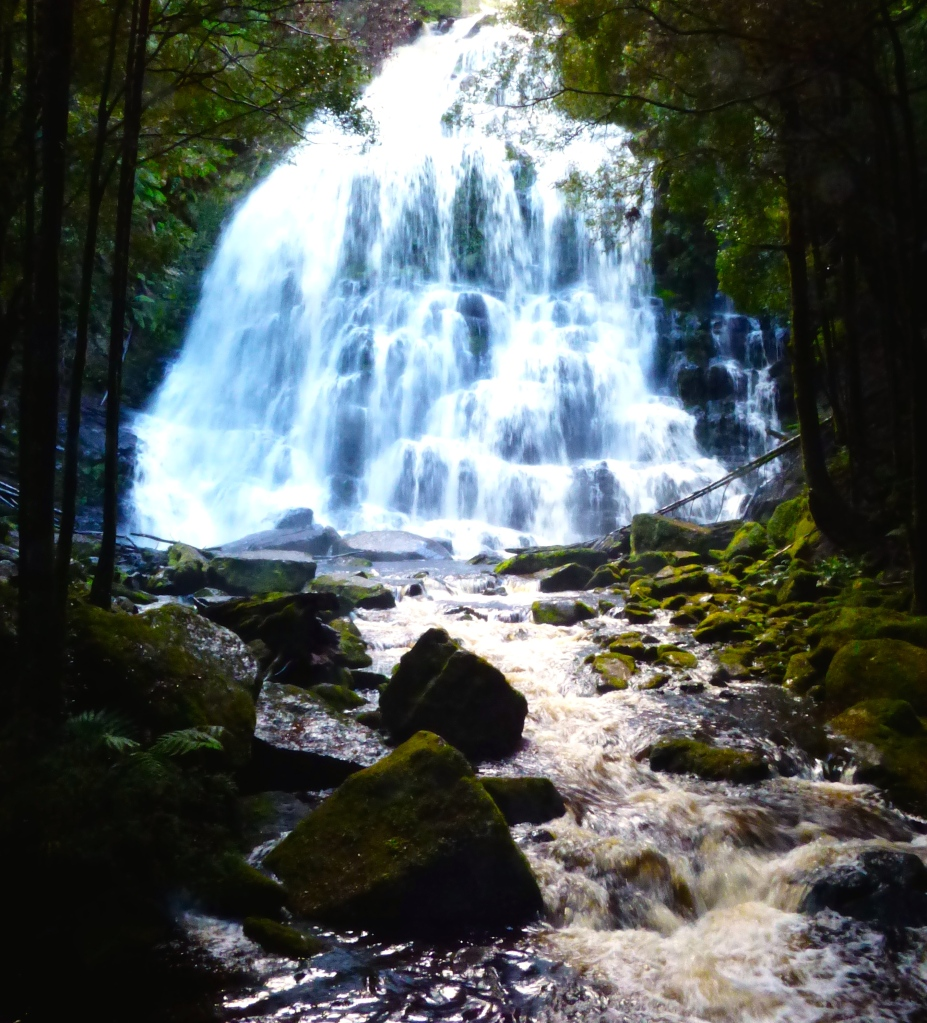 Waterfalls on the way to Strahan