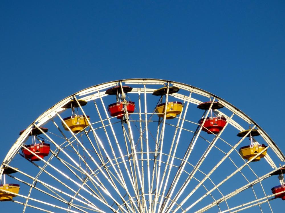 Ferris Wheel at Santa Monica Pier
